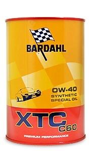 Bardahl XTC C60 0W-40 (1 л.)