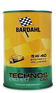 Bardahl Technos C60 5W-40 Exceed (1 л.)