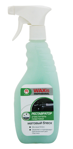 РМ WAXis PROFESSIONAL Реставратор-очиститель для пластиковых поверхностей (триггер) (500 мл) (art: 7302)