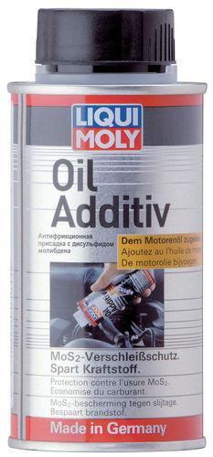 Liqui Moly Oil Additiv — Антифрикционная присадка с дисульфидом молибдена в моторное масло (0.125 л) (art: 3901)