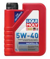 Liqui Moly Nachfull Oil 5W-40 — НС-синтетическое моторное масло (1 л) (art: 8027)