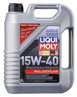Liqui Moly MoS2 Leichtlauf 15W-40 — Минеральное моторное масло (5 л) (art: 1933)