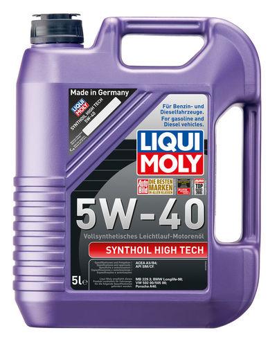 Liqui Moly Synthoil High Tech 5W-40 — Синтетическое моторное масло (5 л) (art: 1925)
