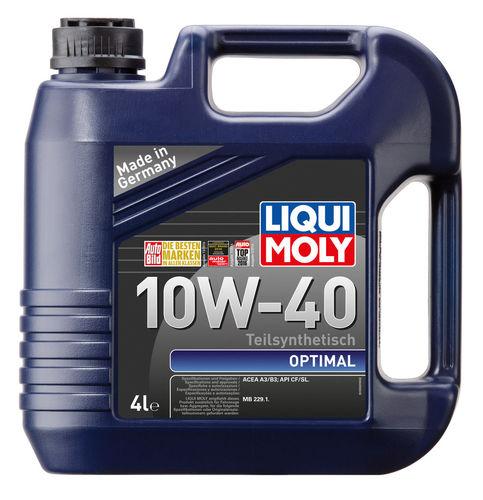 Liqui Moly Optimal 10W-40 — Полусинтетическое моторное масло (4 л) (art: 3930)