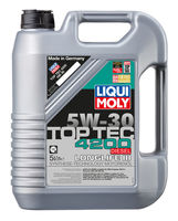 Liqui Moly Top Tec 4200 Diesel 5W-30 — НС-синтетическое моторное масло (5 л) (art: 2376)