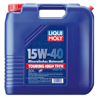 Liqui Moly Touring High Tech SHPD-Motoroil Basic 15W-40 — Минеральное моторное масло (20 л) (art: 1061)