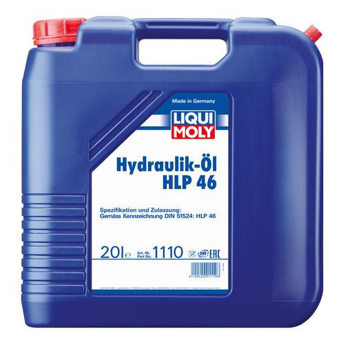 Liqui Moly Hydraulikoil HLP 46 — Минеральное гидравлическое масло (20 л) (art: 1110)