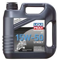 Liqui Moly Motorbike 4T Street 15W-50 — НС-синтетическое моторное масло для 4-тактных мотоциклов (4 л) (art: 1689)