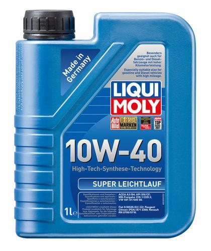 Liqui Moly Super Leichtlauf 10W-40 — НС-синтетическое моторное масло (1 л) (art: 1928)