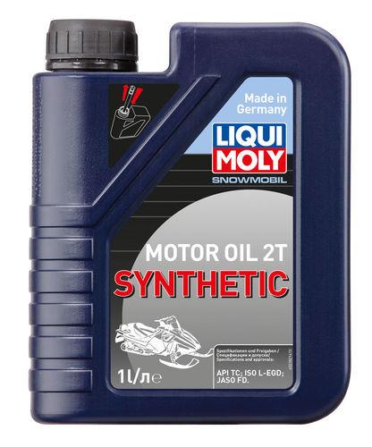 Liqui Moly Snowmobil Motoroil 2T Synthetic L-EGD — Синтетическое моторное масло для снегоходов (1 л) (art: 2382)