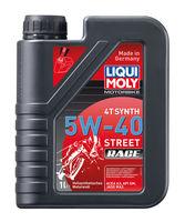 Liqui Moly Motorbike 4T Synth Street Race 5W-40 — Синтетическое моторное масло для 4-тактных мотоциклов (1 л) (art: 2592)