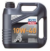 Liqui Moly Motorbike 4T Offroad 10W-40 — НС-синтетическое моторное масло для 4-тактных мотоциклов (4 л) (art: 3056)