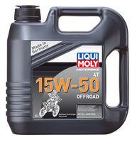 Liqui Moly Motorbike 4T Offroad 15W-50 — НС-синтетическое моторное масло для 4-тактных мотоциклов (4 л) (art: 3058)