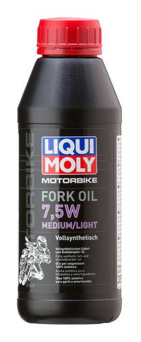 Liqui Moly Motorbike Fork Oil Medium/Light 7,5W — Синтетическое масло для вилок и амортизаторов (0.5 л) (art: 3099)