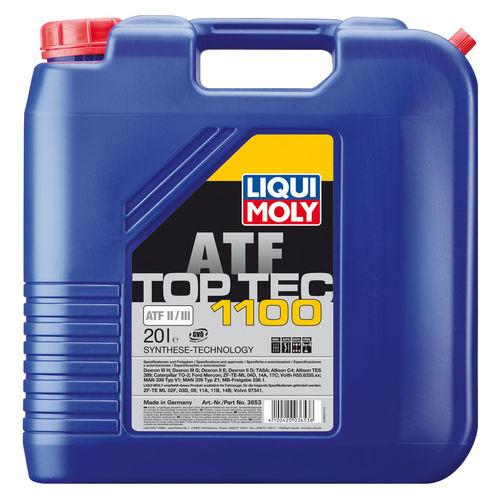 Liqui Moly Top Tec ATF 1100 — НС-синтетическое трансмиссионное масло для АКПП (20 л) (art: 3653)