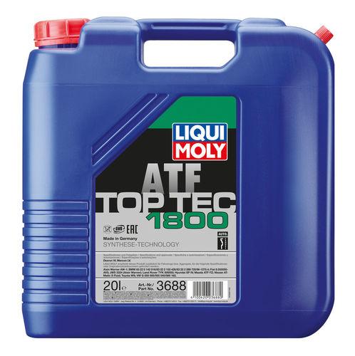 Liqui Moly Top Tec ATF 1800 — НС-синтетическое трансмиссионное масло для АКПП (20 л) (art: 3688)
