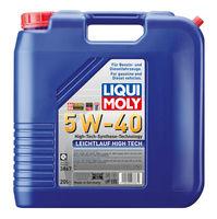 Liqui Moly Leichtlauf High Tech 5W-40 — НС-синтетическое моторное масло (20 л) (art: 3867)