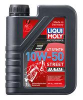 Liqui Moly Motorbike 4T Synth Street Race 10W-50 — Синтетическое моторное масло для 4-тактных мотоциклов (1 л) (art: 3982)