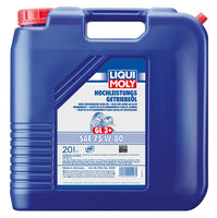 Liqui Moly Hochleistungs-Getriebeoil 75W-80 — НС-синтетическое трансмиссионное масло (20 л) (art: 4428)