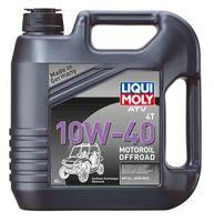 Liqui Moly ATV 4T Motoroil Offroad 10W-40 — НС-синтетическое моторное масло для 4-тактных мотоциклов (4 л) (art: 7541)
