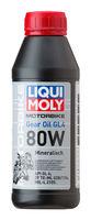 Liqui Moly Motorbike Gear Oil 80W — Минеральное трансмиссионное масло для мотоциклов (0.5 л) (art: 7587)