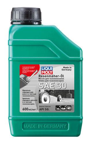 Liqui Moly Rasenmaher-Oil 30 — Минеральное моторное масло для газонокосилок (0.6 л) (art: 7594)