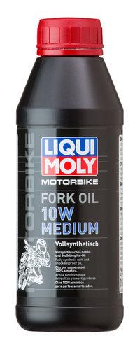 Liqui Moly Motorbike Fork Oil Medium 10W — Синтетическое масло для вилок и амортизаторов (0.5 л) (art: 7599)