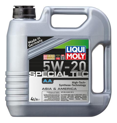Liqui Moly Special Tec AA 5W-20 — НС-синтетическое моторное масло (4 л) (art: 7621)
