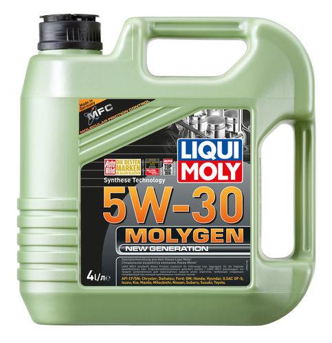 Liqui Moly Molygen New Generation 5W-30 — НС-синтетическое моторное масло (4 л) (art: 9042)