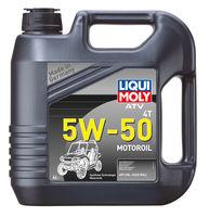 Liqui Moly ATV 4T Motoroil 5W-50 — НС-синтетическое моторное масло для 4-тактных мотоциклов (4 л) (art: 20738)