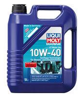 Liqui Moly Marine 4T Motor Oil 10W-40 — НС-синтетическое моторное масло для лодок (5 л) (art: 25013)