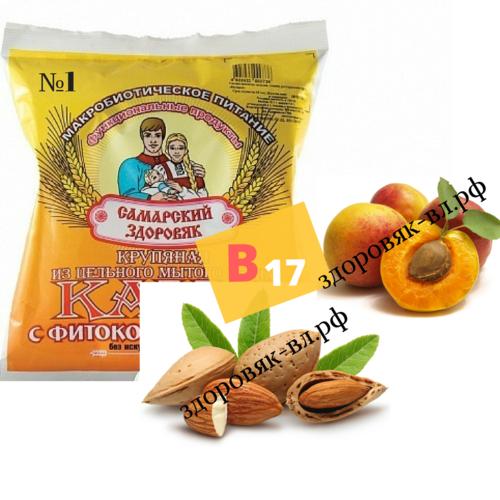 Каша № 1 пшенично-гречневая с витамином B17