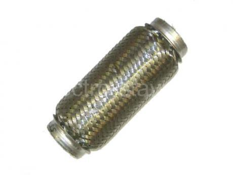Муфта эластичная на глушитель диаметр 55 длина 150 1й оболочный.